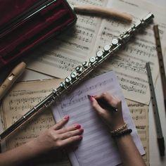 Imagen de music and flute