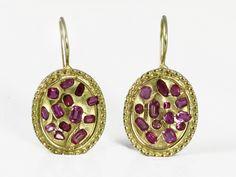 AshBlue - Oval Ruby Earrings, $1,760.00 (http://www.ashblue.com/oval-ruby-earrings/)