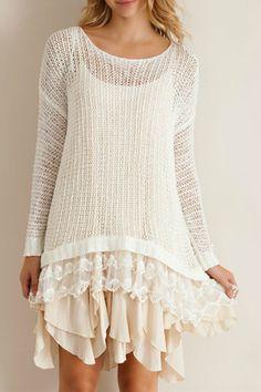 Knit Sweater Tunic http://wildlarkboutique.com/product/knit-sweater-tunic/