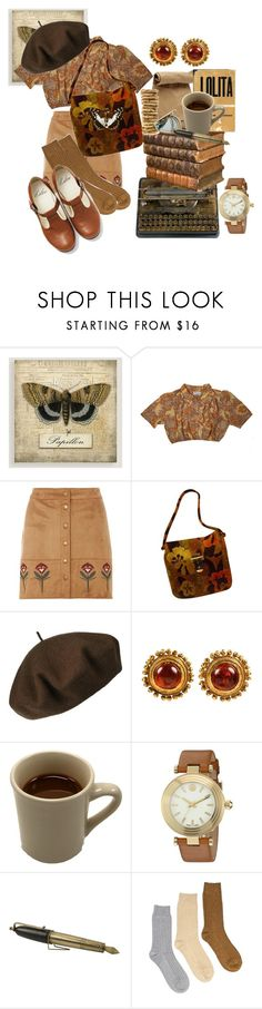 """""""Lil Lady"""" by vintage-nymphet ❤ liked on Polyvore featuring Cost Plus World Market, Dorothy Perkins, 7 For All Mankind, Jil Sander, Betmar, Chanel, Tory Burch, Marc Jacobs and Muk Luks"""
