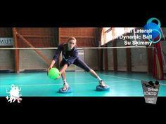 Balance Exercise on Bosu With FluiBall - YouTube