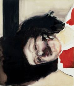 "Marlene Dumas (b.1953) Dead Girl, 2002 South African born painter who lives and works in Amsterdam. From the artist: ""What I'm always asking is: can I use this image? Should I use this image? When I paint a dead person with their face turned away from you, for example, I'm asking: Can you still make a painting that holds your attention?...My better works are the works that embarrass me to do, when I think: Shit, this is going to be terrible. On the one hand I would actually like to be an…"