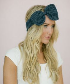 Look at this #zulilyfind! Peacock Blue Bow Headband #zulilyfinds