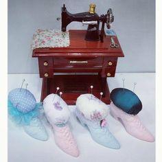 #shoes #pincushion #kokulutaş #ayakkabı #iğnelik #iğnedanlık #handmade