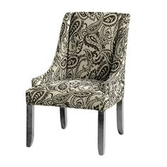 Gramercy Upholstered Chair in Cisco Charcol