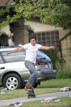 He is great at sports, like skateboarding. | 14 Photos That Prove Zac Efron Is A Spectacular Human