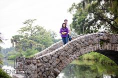 Destination engagement session in New Orleans City Park