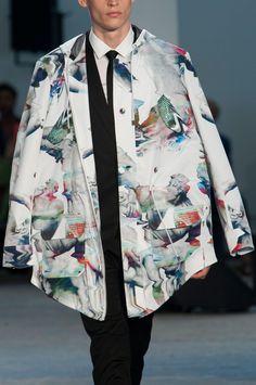 """monsieurcouture: """" Frankie Morello S/S 2015 Menswear Milan Fashion Week """""""
