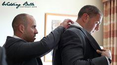 Helping the groom!