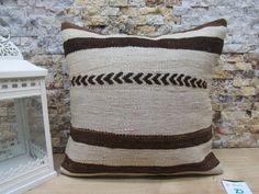 kilim pillow / antique kilim pillow / ethnic kilim pillow / boho wedding pillow / couch pillow / sofa pillow / 16x16 pillow cover code 7600 Patio Pillows, Rustic Pillows, Bohemian Pillows, Cushions On Sofa, Decorative Pillows, Aztec Pillows, Kilim Pillows, Throw Pillows, Sofa Pillow Covers