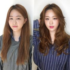 (notitle) Sure, the bushy perms of the might be out of vogue, but there are abundance (generic t Permed Hairstyles, Modern Hairstyles, Pretty Hairstyles, Brown Hair Color Shades, Brown Hair Colors, Asian Hair And Makeup, Hair Makeup, Medium Hair Styles, Short Hair Styles