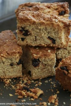 cranberry and cashew rusks – gluten free – Amanda In The Kitchen