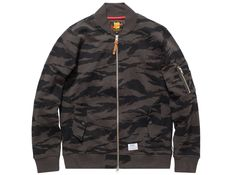 UNDEFEATED COMBAT TERRY MA1 JACKET