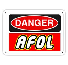 """AFOL Sign by Chillee Wilson, Customize My Minifig"" Stickers by ChilleeW 