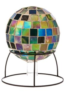 mosaic gazing ball patterns