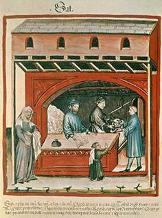 14. Jahrhundert, Hausbuch d. Cerruti / Salz/Ende 14.Jh.