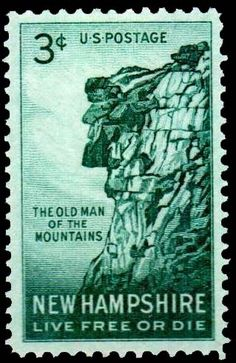 US postage stamps ~ Old Man gone but not forgotten.