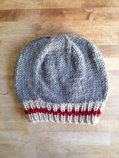 A D V E N T U R E R // Work Sock Hat // Sock by 12LittleThings