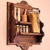 """Полка кухонная """"Siena"""" - купить или заказать в интернет-магазине на Ярмарке Мастеров   Полка под старину в итальянском стиле. Назвали…"""