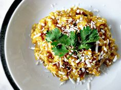 Mexican Sweet Potato Risotto... a WHOLE lot healthier that regular risotto!!!