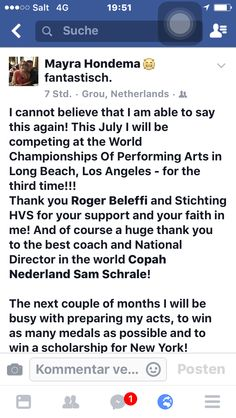 WCOPA World Championships of Performing Arts Los Angeles
