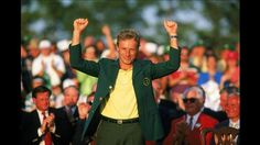 Bernhard Langer won the 1985 Masters with a 6 under par score of Masters Green Jacket, Famous Golfers, Classic Golf, Harry Potter Sweatshirt, Local News, New Orleans, Past, The Incredibles