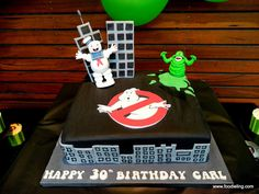Not sure if i already posted from this website, but this is exactly what i want to do for my bf's 30th coming up!   Foodie Ling - An Adelaide Food Blog: Mr. Foodie Turns 30 - A Ghostbusters Party