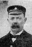 Mr Ernest Edward Samuel Freeman, 43. He was listed as Chief Deck Steward on the Titanic but he was  a secretary to White Star chairman J Bruce Ismay. His monthly wages were £3 15s.    Freeman lost his life in the disaster, his body was recovered by the Mackay-Bennett. Body #239.