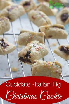 Cucidate, Italian Fig Cookie by Angela Roberts