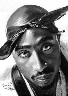 2Pac...Oil on canvas
