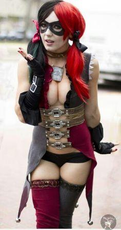 Jessica Nigri as Harley Quinn (Injustice: Gods Among Us)