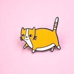 Popular Fatty Catty Pin