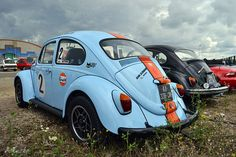 VW Cox Beetle Gulf racing