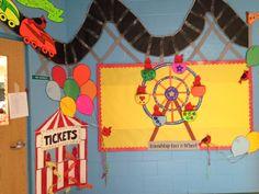 Classroom Welcome, Ferris Wheel, Walls