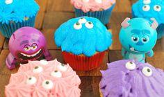 Funfetti Monster Cupcakes #ScareEdu #shop #cbias