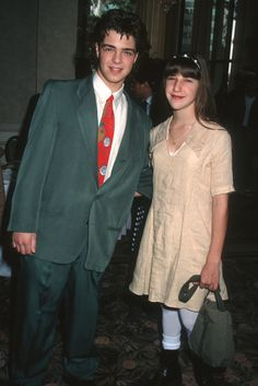 Joey Lawrence and Mayim Bialik (Blossom), 1992 WireImage (Source.  Here's Where Your Favorite TV Character From The 90s Went On Vacation - The Huffington Post  |  By Suzy Strutner	- Hp Awkward/Amazing http://www.huffingtonpost.com/2013/11/14/90s-tv-vacation_n_4255029.html#slide=1244950 )