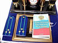 Gallery.ru / Подарок полковнику юстиции. - Букет конфет в Волгограде. Подарки для мужчин - iraida60