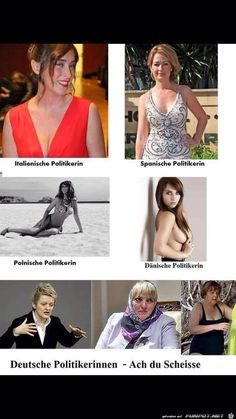 lustiges Bild 'Politikerinnen.jpg'- Eine von 14329 Dateien in der Kategorie 'witzige Bilder' auf FUNPOT.