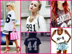tendencias primavera verao camiseta numero