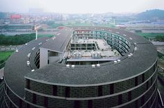 Tulou Housing Project, Guangdong Province, China - Urbanus - derived from traditional Tulou and Hakka forms