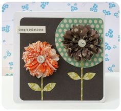 Pretty flower card