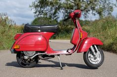 Vespa Px 200, Piaggio Vespa, Garage, Motorcycle, Vehicles, T5, Vintage, Window Boxes, Motorbikes