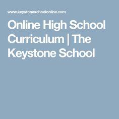 Online High School Curriculum | The Keystone School