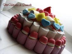 Tarta de chuches / gominolas