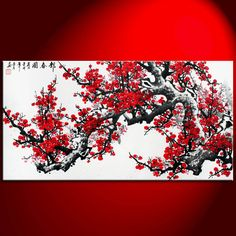 1000 Ideas About Red Cherry Blossom On Pinterest Tree