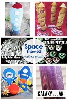 Space Activities and Printables via @craftingchicks