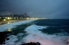 Rio de Janeiro -Mirante Leblon Foto: Márcio Alves / Agência O Globo via Fanpage - O Globo