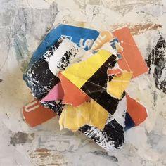 Kids Collage, Collage Artwork, Collage Artists, Robin Bird, Torn Paper, Shape And Form, Algarve, Lisbon, Boats