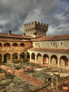 Castello di Amorosa  4045 N. St. Helena Hwy.,  Calistoga, CA 94515  http://www.tripadvisor.com/Attraction_Review-g32143-d645572-Reviews-Castello_di_Amorosa-Calistoga_Napa_Valley_California.html