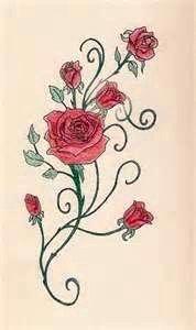 c773975af Rose Bud Tattoo, Yellow Rose Tattoos, Flower Vine Tattoos, Rose Tattoos On  Wrist